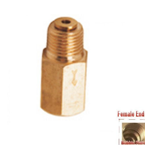 """Check Valve Fitting Pipe NPT 1/8"""" Female to Male"""