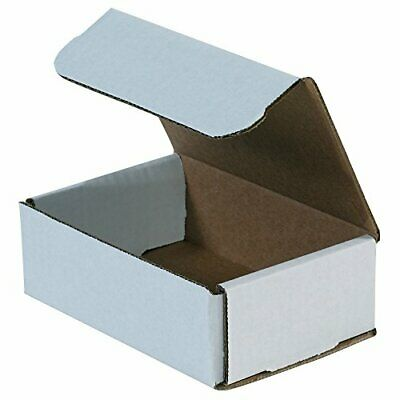 Small White Shipping Boxes Corrugated Packaging Cardboard Mailer Box Pack Of 50