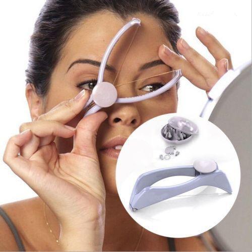 Damen Gesicht Haarentfernung Enthaarung Haar Epilierer Beauty Faden Epilator neu
