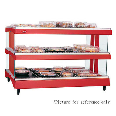 Hatco Gr3sdh-33d Dual Shelf Horizontal Display Warmer With Heated Glass Shelves