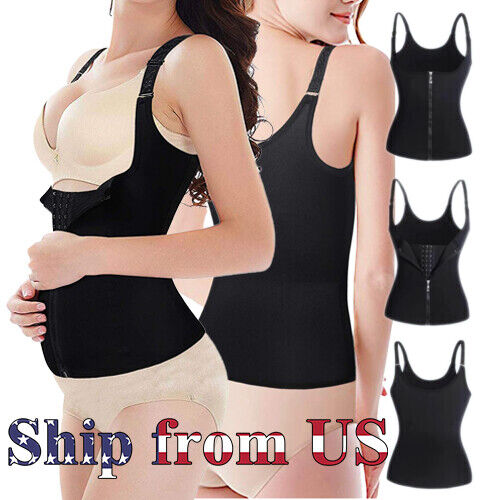 Women Postpartum Waist Trainer Cincher Body Shaper Tummy Control Slimming Corset Clothing, Shoes & Accessories