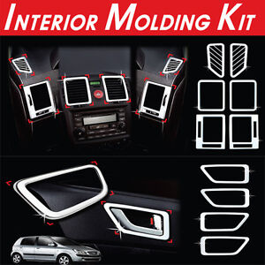 Interior Molding Kit 10Pcs 1Set For Hyundai Getz Click 2002-2011
