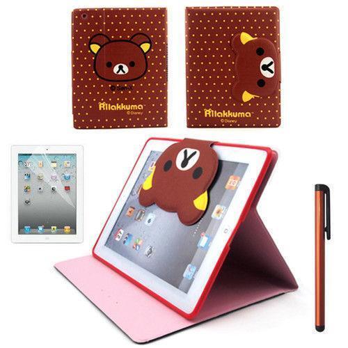 Cute Smart PU Leather Stand Case Cover For iPad Mini 1 2 3 ... |Cute Ipad Cases