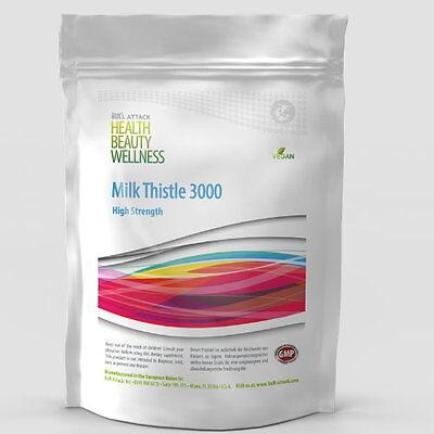 250 Tabletten Mariendistel / Milk Thistle 3000  80% Silymarin Leber no Kapseln