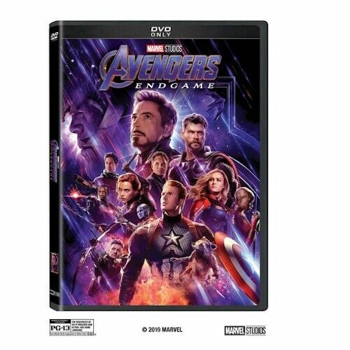 Avengers Endgame DVD Brand New & Sealed Free Shipping Included