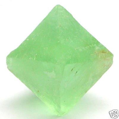 GREEN Octahedron ROUGH FLOURITES Minerals