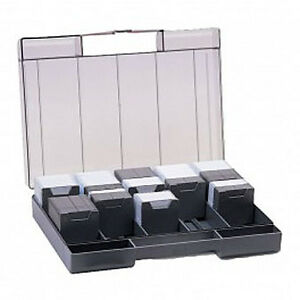 Pro 35mm Slide Storage Case. Holds 400 Slides. With Index Card, Labels & Box