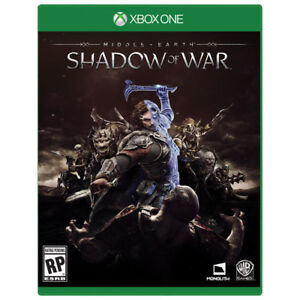 Middle-Earth: Shadow of War disc for digital