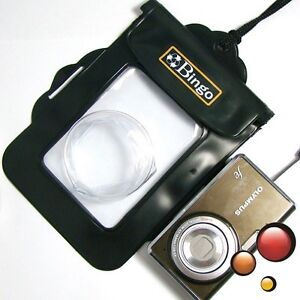 Bingo Waterproof Underwater Camera Housing Case Dry Bag Pouch For SLR/DSLR Black