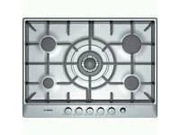 Bosch 5 burner and wok cooker