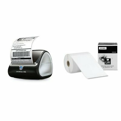 Thermal Label Printer 5 Roll Wide Format Sticker Writer Machine Shipping Office
