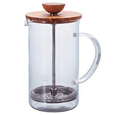 Hario Tea Press Wood For 4 Cups THW-4-OV 600ml Tea Maker Oli