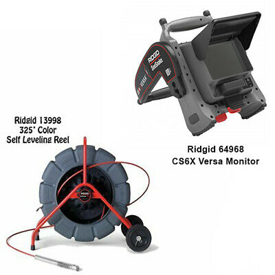 Ridgid 325 Color Self Leveling Reel 13998 Cs6x Versa Monitor 64968