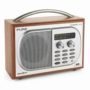 pure evoke portable radios ebay. Black Bedroom Furniture Sets. Home Design Ideas