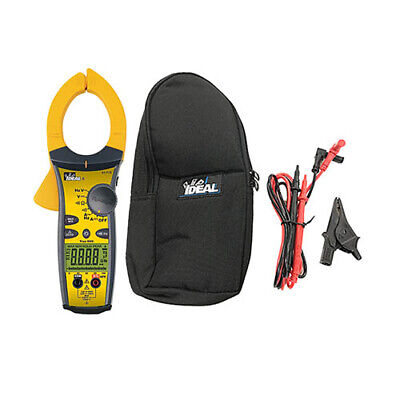 Ideal Electrical 61-775 Trms Acdc Clamp Meter 1000aacdc Wtightsight