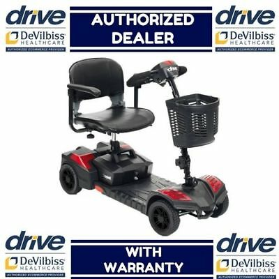 NEW Drive Medical Spitfire Scout 4 Wheel Travel Compact Handicap Power Scooter