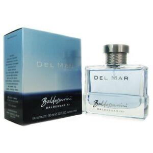 Del Mar by Baldessarini 3.0 oz EDT Cologne for Men New In Box