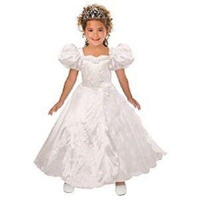 Giselle Disney Costume (DISNEY ENCHANTED GIRLS GISELLE WEDDING COSTUME DRESS SIZE)