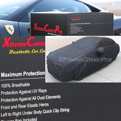 2015 AUDI A3 S3 SEDAN Breathable Car Cover wMirror Pockets   Black