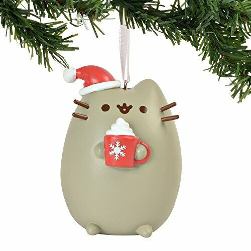 Department 56 * Pusheen Meowy Christmas Ornament * Cocoa Cat Kitten Holiday