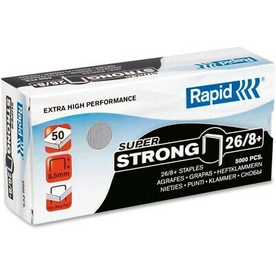 Rapid Staples S50 Superflatclinch High Capacity Stapler