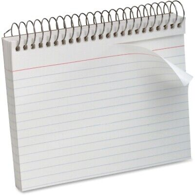 Oxford Spiral Index Cards 4 X 6 White 50pack Pk - Ess40283