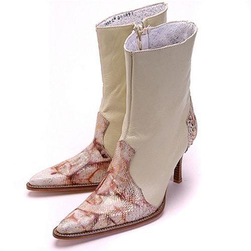 womens snakeskin cowboy boots ebay