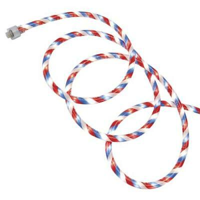 12' Plug-in Red White and Blue Patriotic Rope Light](Red White And Blue Lights)
