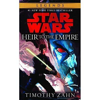 Heir to the Empire (Star Wars: Thrawn Trilogy - Library Binding NEW Zahn, Timoth