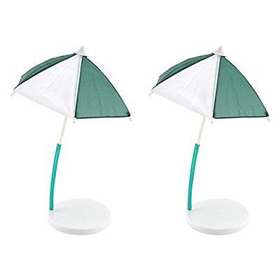 Bigmouth Inc Cocktail Umbrella & Coaster, Set Of 2