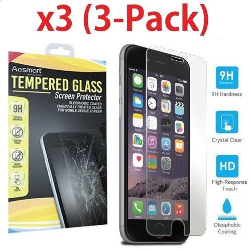 ✔ Real Tempered Glass Screen Protector Premium For iPhone 11 XSmax/XR/XS/X/8/7/6 Cell Phone Accessories