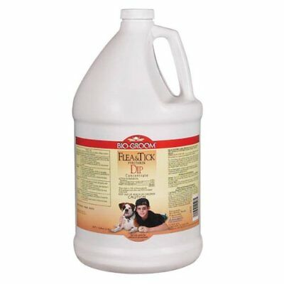 NEW Bio Groom Flea and Tick Pyrethrin Dip Dog/Cat Concentrate 1 Gallon