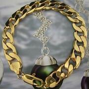 Mens Solid Gold Bracelet