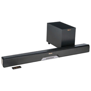 Klipsch Reference RSB-6 210-Watt Sound Bar with Subwoofer