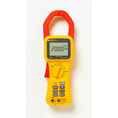 Fluke 355 Trms 2000a Acdc Clamp Meter Volts Amps Resist Cont