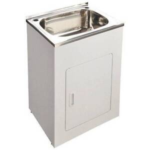 SINGLE BOWL STAINLESS STEEL SINK LAUNDRY TUBS MULTI SIZES Villawood Bankstown Area Preview