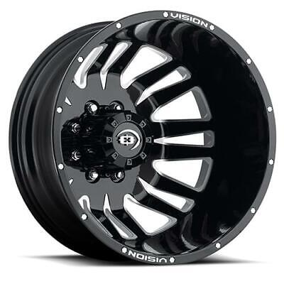 20'' x8.25 Vision Rival Dually Rear Machined 8x6.5 -211 ET 401H2881BMFRL116 Sin