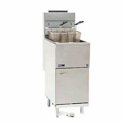 Pitco - 65cs - Economy 80 Lb Gas Fryer