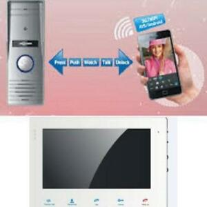"Weekly Promo! IP video door phone with 7"" Monitor,  SAV  IP327W $259 (was$299)     High Quality, Low Prices for both Who"