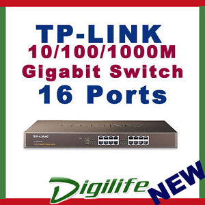 TP-Link-TL-SG1016D-16-Port-Gigabit-Desktop-Switch-10-100-1000-Mbps