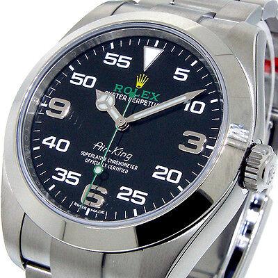 UNWORN ROLEX 116900 AIR-KING 40 mm STEEL BLACK DIAL OYSTER PERPETUAL 116900