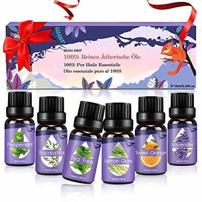 Aceites Esenciales, 100% Puros y Naturales Aromaterapia Aceites Esenciales para