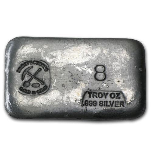 8 Oz Silver Bar Ebay