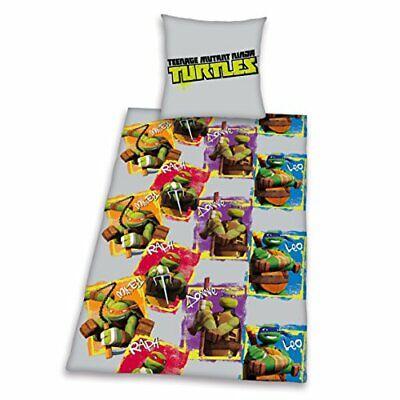 Herding 465501050412 Bettwäsche Teenage Mutant Ninja Turtles, Kopfkissenbezug...