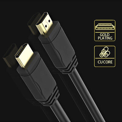 1.2m Ultra HDMI to HDMI Lead V1.4 For Laptop to TV Cable High Quality Gold Plate