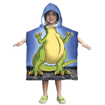 Kids T-Rex Dinosaur Towel Poncho - Rex Kids