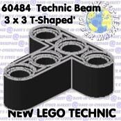 Lego Technic Black Beams