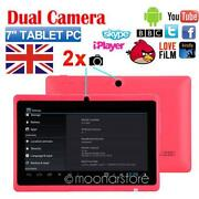 Pink Android Tablet