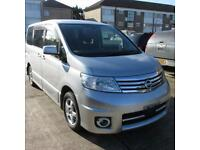 NISSAN SERENA HIGHWAY STAR/ELGRAND/ 4 WHEEL DRIVE 2.0 PETROL AUTOMATIC 2006 (56)