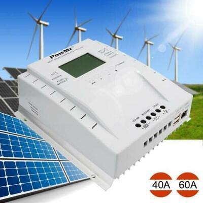 30A 40A 50A 60A 80A 100A 120A MPPT Solar Charge Controller 12V 24V PV 100V GU ()